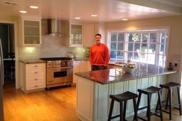 Home remodel kitchen remodel in Pasadena CA 3